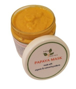 All Natural Papaya Turmeric Grapefruit Skin Lightening Mask (Age Spot, Sun Damaged Skin, Acne Scar, Spa Facial)