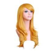 "TopWigy 28"" 70cm Long Hair Heat Resistant Spiral Curly Cosplay Wig with Wig Cap"