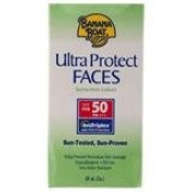 Good Seller ! Banana Protect Faces Sunscreen Lotion SPF50 60ml.