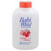 Good Seller ! Babi Mild Baby Powder Honey Cherry 180g.