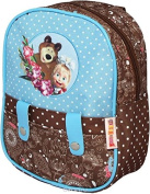 Preschool Backpack Masha and the Bear, Baby Bag, Small Backpack Kids, Bag Girl Cute Backpack Kindergarten for Baby, Little Girl,