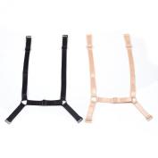 KLOUD City®Pack of 2 Non-slip Women's Elastic Bra Strap Holder Happy Strap Bra Shoulder Strap