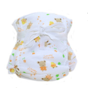BABYBOO Baby Natural Cotton Cloth Nappy Comfortable Breathable Nappy Covers,Packing of 1
