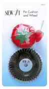 Birch 053315 | Sew It Tomato Pin Cushion with Strawberry Sharpener & Pin Wheel