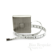 Modern Stainless Steel Retractable Tape Measure, 150cm , Made in Germany