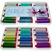 Aurifil Flower Collection Thread Kit 50wt 12 Large (1422 yard) Spools Aurifil