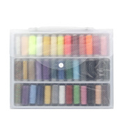 Urchart@ Urchart@ 39PCS Assorted Colours 350M/Unit Polyester Professional Sewing Thread