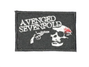 Avenged Sevenfold Embroidered Patch Iron Sew Rock Heavy Metal Music Band Logo p-68