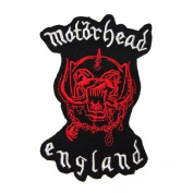 MOTORHEAD England Embroidered Patch Iron Sew Heavy Metal Rock Music Band Logo p-61