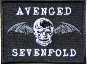 Avenged Sevenfold Embroidered Patch Iron Sew Rock Heavy Metal Music Band Logo p-45