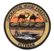 Operation Iraqi Freedom Veteran EC Patch