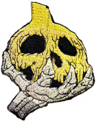 Pumkin Skull Zombie Ghost Skeleton Halloween Party Jacket T-shirt Patch Sew Iron on Embroidered Sign Badge