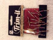 Nicole Trim-it 4176 Multi Coloured Seed Trim Ribbon coloured Rust 0.5m