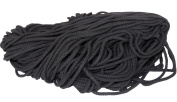 RaanPahMuang Brand 7mm Diameter Soft Natural Cotton Rope or Cord, 700 grammes (0.7kg), Black
