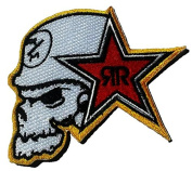 Embroidery Iron on or Sew on Patch Metal Mulisha ATV Motocross 1 Pcs.