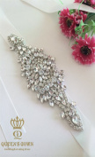 Ladies Wedding Dress a Grade Rhinestone Belts, Diy Shoes and Other Clothing Accessories
