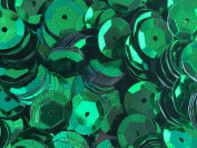 Sequins 8mm 800/Pkg Emerald Green