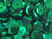 Sequins 8mm 800/Pkg Emerald Green