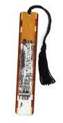 Snow Day- Ski Lift Wooden Bookmark with Tassel