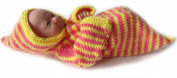KSS Handmade Striped Snug Baby Bag with Zipper Newborn