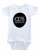 Sara Kety Unisex-baby Newborn 100% Bloomie's Baby Bodysuit Size 6-12 Mo