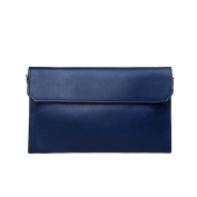 S-ZONE Women's Genuine Leather Evening Envelope Clutches Handbags Shoulder Bag