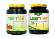 SDC Nutrition About Time Whey Strawberry 0.9kg/Unflavored 0.9kg