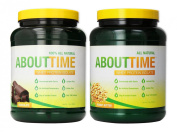 SDC Nutrition About Time Whey Chocolate 0.9kg/Peanut Butter 0.9kg