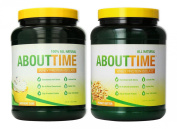 SDC Nutrition About Time Whey Birthday Cake 0.9kg/Peanut Butter 0.9kg