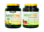 SDC Nutrition About Time Whey Protein Banana 0.9kg/Strawberry 0.9kg