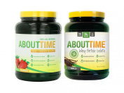SDC Nutrition About Time Whey Protein Strawberry 0.9kg/Vanilla 0.9kg