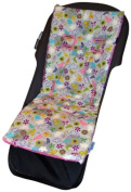 Tivoli Couture Nu Comfort Memory Foam Stroller Pad and Seat Liner, Spring Blossoms