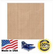 41cm x 41cm Heat Press Teflon Sheet / Non Stick PTFE 3 Mil