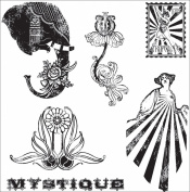 Hampton Art Cling Le Cirque Rubber Stamp