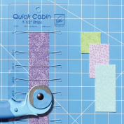 Quick Cabin Log Cabin Ruler for 3.8cm Strips by June Tailor Item #JT-774