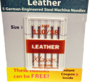 Klasse' Sewing Machine Leather Needle Size 110/18