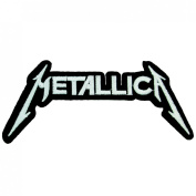 Metallica Rock Band Iron on Embroidered Patches