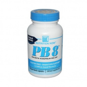 Nutrition Now PB 8 Pro-Biotic Acidophilus For Life -- 480 Capsules (4 pack of 120 ea)