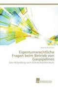 Eigentumsrechtliche Fragen Beim Betrieb Von Gaspipelines [GER]