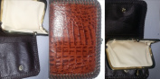 Handcrafted NT Saltwater Crocodile Skin Ladies Clutch Purse