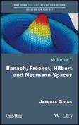 Banach, Frechet, Hilbert and Neumann Spaces