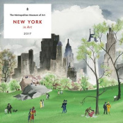New York in Art 2017 Wall Calendar