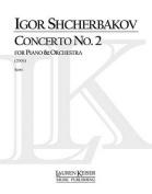 Concerto No. 2 for Piano and Orchestra, Full Score