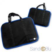 ICarry Car Backseat Organiser Is a Caddy Bag Uniquely Designed to Store Your Kid's Toys and Gadgets, Has a Drink Holder and Is a Car Seat Protector All-in-one, Quickly and Easily Zips up to Become a Carry Bag, Awesome for Travel to Keep Your Car Interi ..