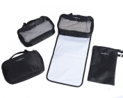 Obersee 4 Piece Nappy Bag Conversion Kit, Black