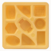 Silicandy Multipurpose Baby Food Storage and Baking Mould / Freezer Tray / Container with Lid / Adorable Praline Shapes / 90ml Portions / Four Colours Available