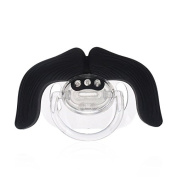 LOVE MY - The cowboy Moustache Pacifier (Black),For Newborn, Toddler, Boys And Girls - perfect gifts For Your Lovely Baby (3 months+) +