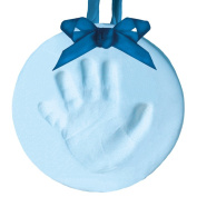 Pearhead Babyprints Holiday Ornament, Blue