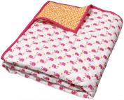 Masala Baby Happy Elephant Moksha Quilt- Pink
