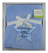 Magic Years Mommy's Little Star - Blue Baby Blanket 80cm X 100cm
